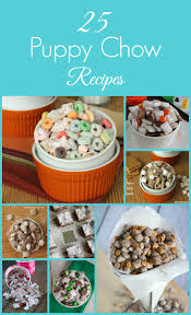 25 puppy chow recipes