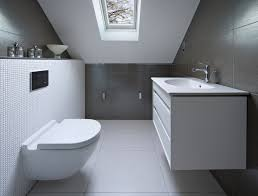 white and gray bathroom ideas 34 attic bathroom ideas and designs