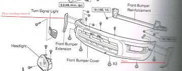 removing front bumper cover toyota rav4 forums