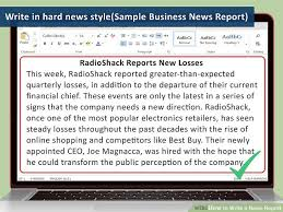 3 clear and easy ways to write a news report wikihow