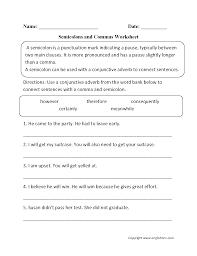 grammar worksheets punctuation worksheets