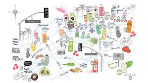 Map Of The Stars Los Angeles by What U0027s Behind Hollywood U0027s Juice Craze And Why There Is No End In