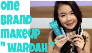 review tutorial makeup sehari hari one brand makeup tutorial wardah natural and glowing skin