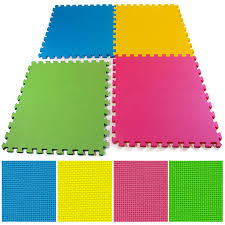Exercise Floor Mats Over Carpet by Multicolor Eva Interlocking Soft Foam Play Area Exercise Garage