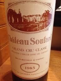 learn about chateau soutard st 1985 château soutard bordeaux libournais st émilion