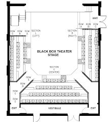 seating charts u2013 theatre arts uw la crosse