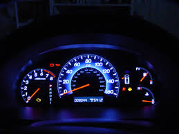 honda crv dashboard lights 2008 exl while driving the instrument panel lights dim and the kmph