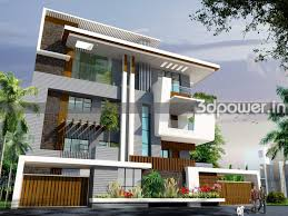 beautiful small duplex house elevation software 3d house