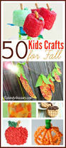 50 kids crafts for fall easy diy projects buckets and 50th