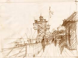 landscape pencil sketch archives renaissance of art