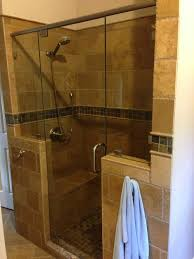 Winston Shower Door How Is It To Keep Travertine Tile In Bathroom Shower Clean