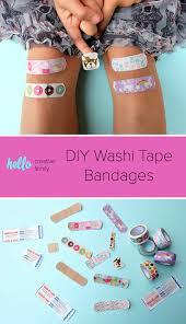 washi tape diy diy washi tape bandages hello creative family