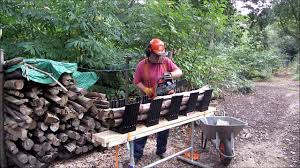 Log Saw Bench Truncator Chainsaw Logging Bench As Seen On Dragon U0027s Den Youtube