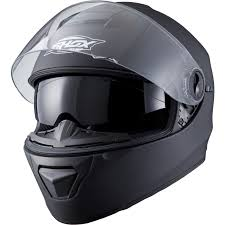 motorbike shoes shox assault solid matt black motorcycle helmet inner sunvisor