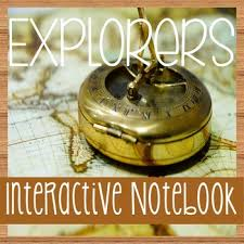 explorers of north america social studies notebooking with