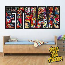 boys superhero bedroom superhero bedroom home furniture diy ebay