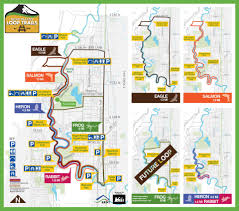 Renton Washington Map by Kent Valley Loop Trails City Of Kent