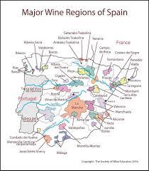 Spain Regions Map by Spain U2013 Swe Map 2017 U2013 Wine Wit And Wisdom