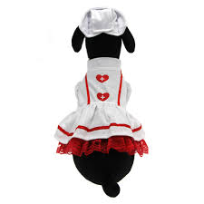 sweet heart nurse halloween dog costume with same day shipping