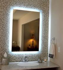 Bathroom Mirror Illuminated Bathrooms Design Bathroom Mirrors With Lights And Demister 20 X