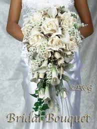wedding flowers ebay beautiful gold bouquet wedding bouquets bridal bridesmaid