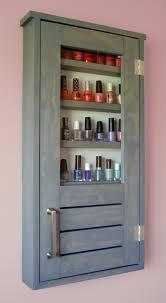 Cabinet Polish Ana White Nail Polish Cabinet Diy Projects Bathroom