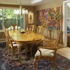 Gold Dining Room by Sherwin Williams Restrained Gold Bedroom Transitional With Painted