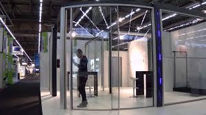 vitrocsa curved sliding glass walls youtube