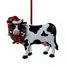 cow tree ornaments collection on ebay