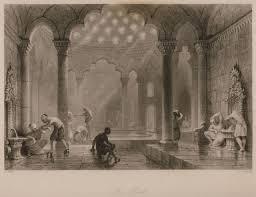 Ottoman Baths Ottoman Baths In Istanbul Gravür Engraving Pinterest