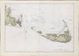 Boston Map 1776 by From The Atlantic Neptune The First Chart Of Nantucket And