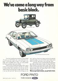 Vintage Ford Truck Decor - ford pinto advertisement gallery