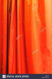 orange curtain hanging stock photo royalty free image 25860255