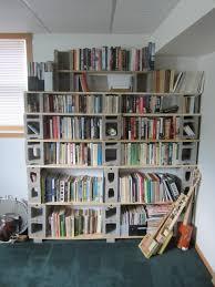 Cheapest Bookshelves Decor Simple Design Of The Decorative Cinder Blocks Book Shelf