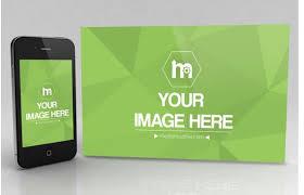 iphone and website mockup template sharetemplates