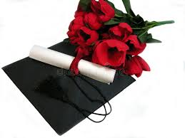 graduation flowers graduation flowers stock photo image of ribbon flowers 2410028