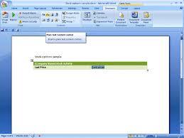 creating word 2007 templates programmatically