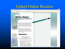 Online Resume Hosting by And Used With The Permission Of The Author Ppt Video Online