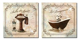 themed bathroom wall decor bathroom wall bath decor canvas pictures posters decorating