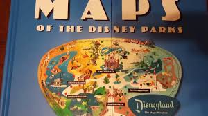 disney parks map maps of the disney parks book