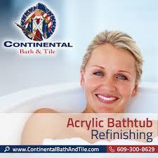 Refinish Acrylic Bathtub Continental Bath U0026 Tile Llc Acrylic Bathtub Refinishing