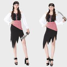 Womens Pirate Halloween Costumes Discount Pirate Halloween Costumes 2017 Women Pirate