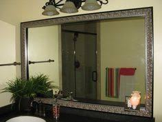 Bathroom Mirror Frames Kits Mirror Frame Kit Reflected Design Custom Mirror Frame Kits