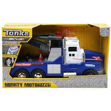 tonka mighty motorized fire truck tonka mighty motorised tow truck 3 years costco uk