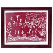 Warli Art Simple Designs Warli Art Traditional Indian Paintings Sayajigunj Vadodara