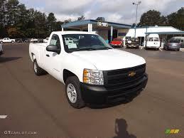 Chevrolet Silverado Work Truck - summit white 2013 chevrolet silverado 1500 work truck regular cab