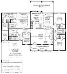 the manchester 5691 3 bedrooms and 2 5 baths the house designers