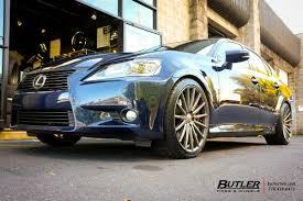 lexus gs350 vossen wheels lexus gs with 20in vossen vfs2 wheels exclusively from butler
