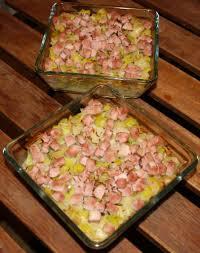 que cuisiner avec des poireaux tartiflette aux poireaux jambon et cancoillotte verre aux papilles