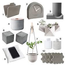 design accessories 10 modern concrete accessories design milk